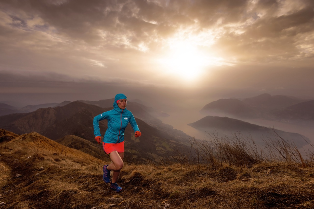 Graziana Pe, trail, mountain, north face, redbull illume, runner