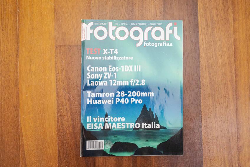 Magzine tutti fotografi canon eos 1 dx mk3