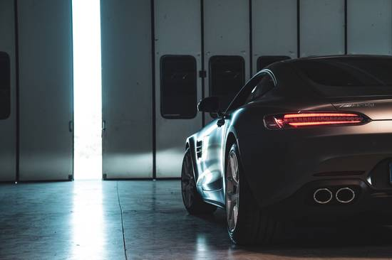 Mercedes AMG GT back light