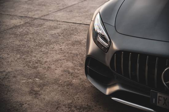 AMG detail front bumper