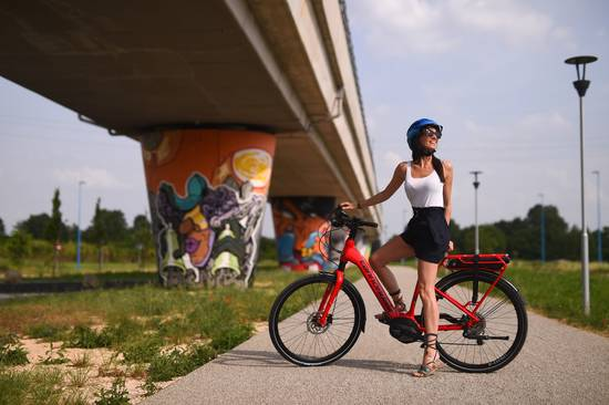 Ebike Cannondale City Girl