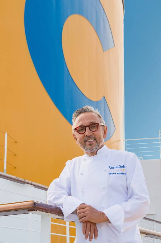 Bruno Barbieri, Chef, Costa Crociere, Costa Club, Ritratto