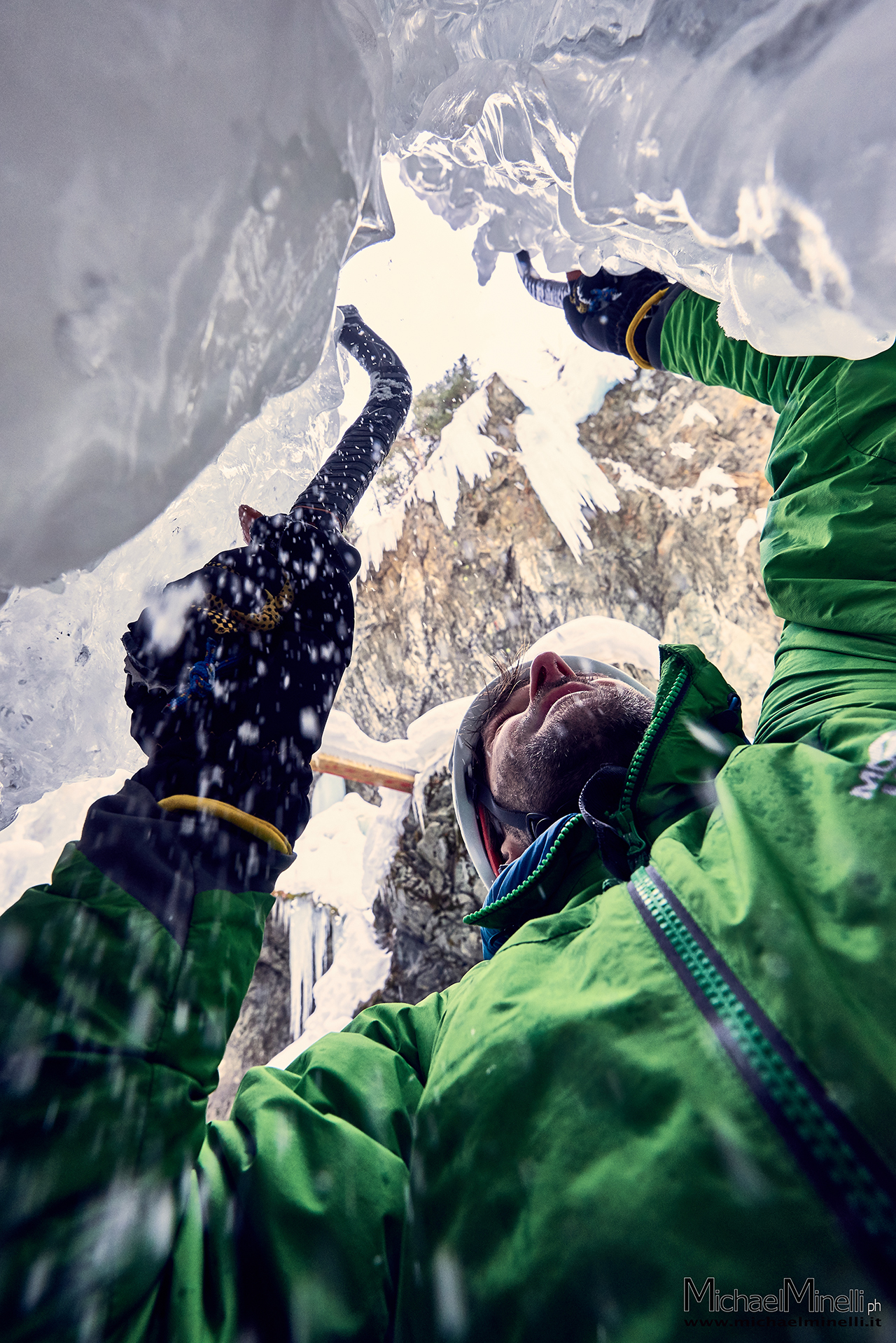 alpine guide, alps, climbing, ice fall, red bull,
